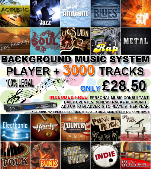 background music system