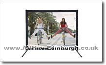 "AV Hire Edinburgh 42"" Plasma  screen hire"